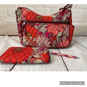 Vera Bradley COMBO - Bag, Wallet & Pen!
